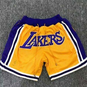 Men's Brand New Just Don Los Angels Lakers 376779